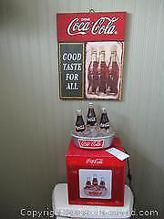 Coke Sign And Fountain A