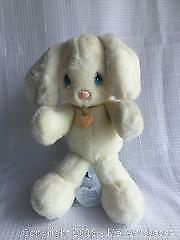 Precious Moments Plush Collector Doll with Stand - Bunny