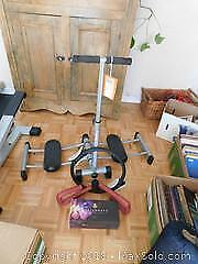 Assortment of Exercise Equipment A