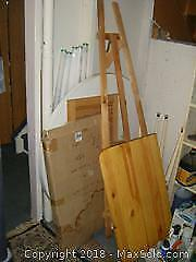 Tables And Easel B