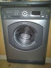 Hotpoint WMD960 8kg 1600 Spin Silver LCD Silent Washing Machine 1 YEAR GUARANTEE FREE FITTING