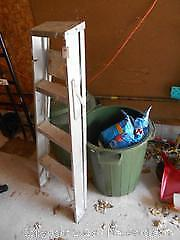 Cans And Step Ladder B