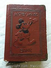 Antique Mickey Mouse Bank