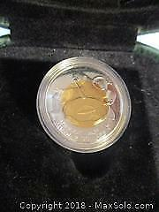 1999 Nunavut Proof $2.00 Coin, LTD Edition Sterling Silver 92.5% Silver Coin With COA.