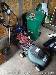 Electric Lawnmower And Grass Trimmer B