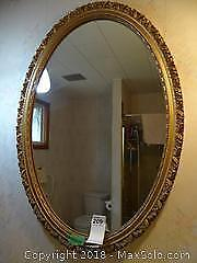 Mirror With Guided Frame A