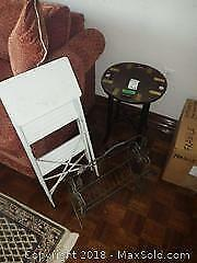 Table And Step Ladder B