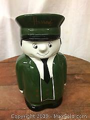 Vintage Harrods London Tea Jar B