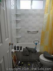 Bath Mat, Toilet Seat cover And More B