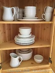 Assorted White Dinnerware A