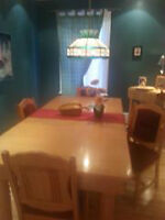 Table salle a diner
