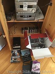 Yamaha Mini Cassette Deck CD Changer and CDs A