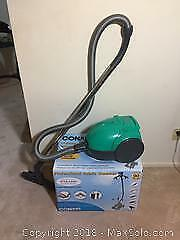 Boxed Fabric Steamer And Vacuum Cleaner