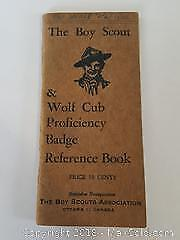 Early Boy Scout Badge Reference Guide