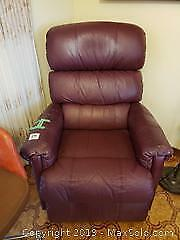 Leather Rocking Recliner - C