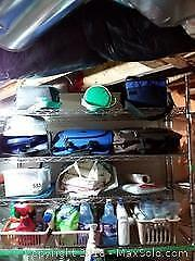 Picnic Bag, Small Travel Bag, Cleaning Supplies A