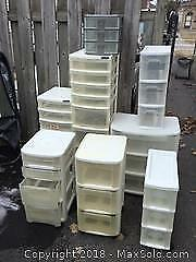Storage Bins With Drawers