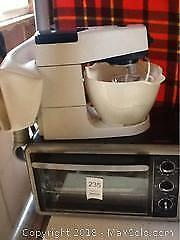 Toaster Oven And Mixer