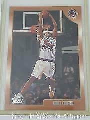 1998 Vince Carter Topps Rookie Card Raptors