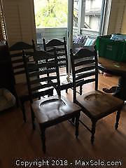 4 Dining Chairs B