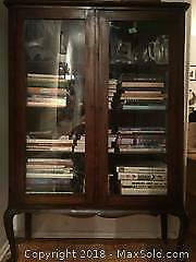 Glass Walled China Cabinet