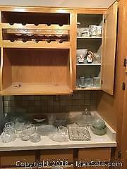 Crystal And Glass Serving Wear A