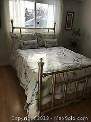 Traditional Double Brass Bed frame