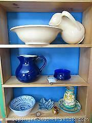 Pitcher and Basin, Pitcher, and More. A