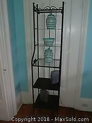 Ikea Metal And Glass Shelving A