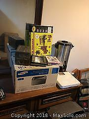 Printer And Coffee Urn B