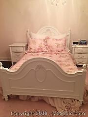 Double Bed Frame with Headboard and Footboard