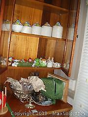 Canisters, Punch Bowl and More A