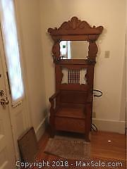 Antique Hall Stand A
