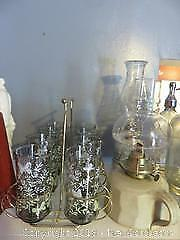 Glasses & Oil Lamps-B