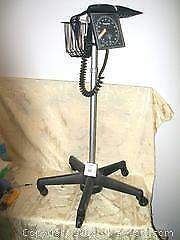 German Hospital Quality Portable Welch Allyn Blood Pressure Monitor on wheel stand