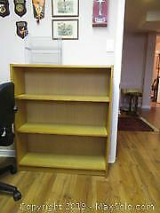 Bookcase And CD Rack C