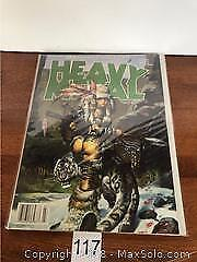 Heavy Metal The Mature Illustrated Fantasy Mag