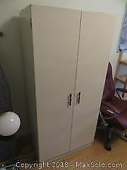 Metal Cabinet and more C