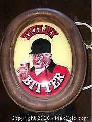 Vintage Tetley lighted sign