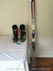 Dynastar Skis and Riachle boots B