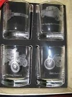 Collectors Edition Ford F150 Harley Davidson Drink glasses XRARE