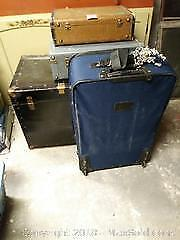 Luggage And Steamer Trunk B