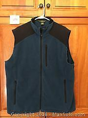 Men's Eddie Bauer Fall / Winter Vest Size Large