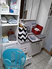 Laundry Hamper, Facecloths, Hand Soap and More A