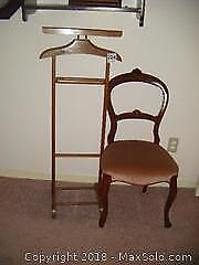 Parlour Chair And Clothes Butler B