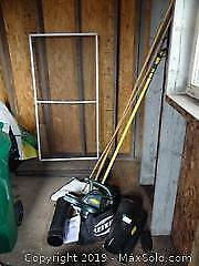Leaf Blower And Extension Pole A