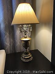 Vintage Tall German Lamp 30 Inches Tall