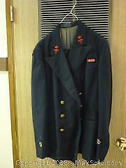 Vintage Canadian Navy Uniform - A