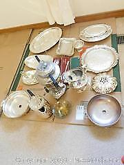Silver Plate And Metal - A