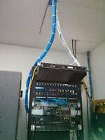 Network Cable Running Technicain